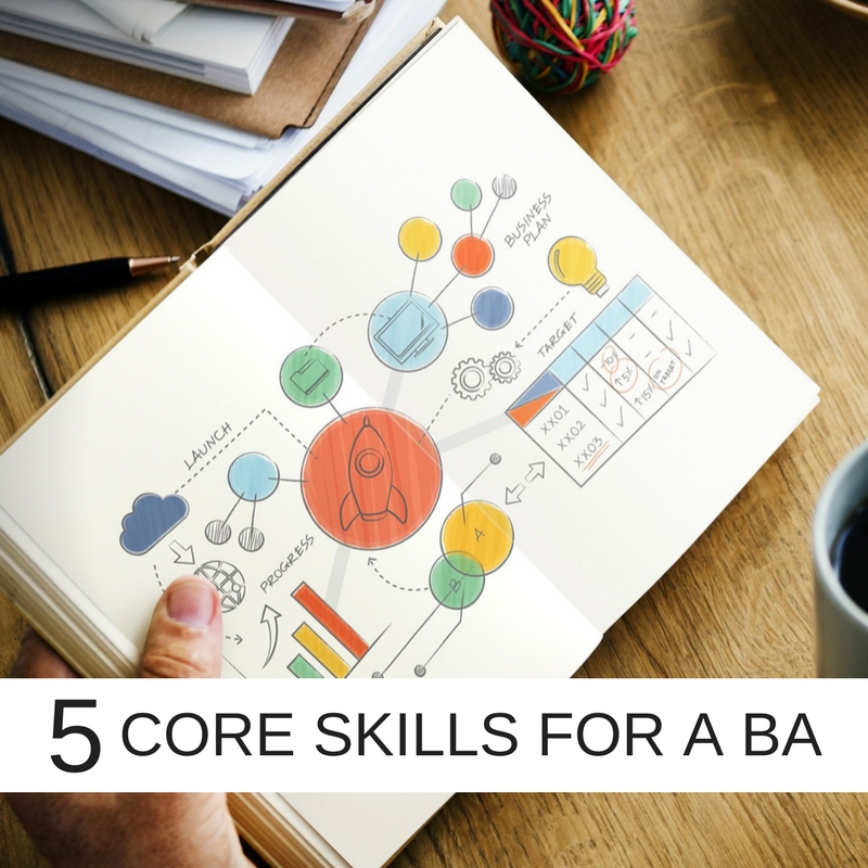 5 Core skills essential for a Business Analyst