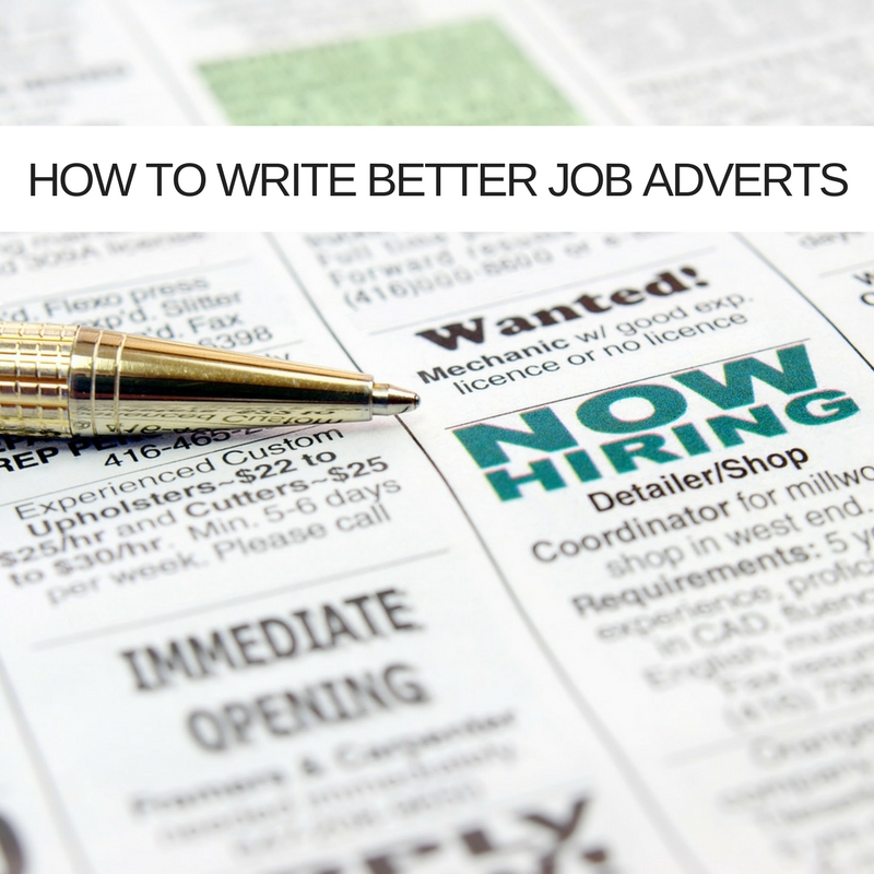 If 8 out of 10 job ads ARE badly written.