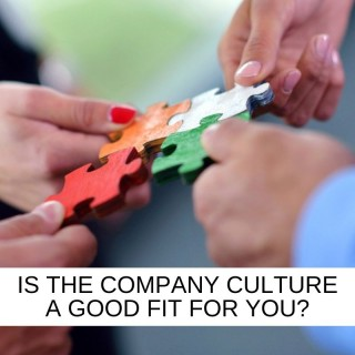 Is the culture of the company you're applying to, a good fit for you?