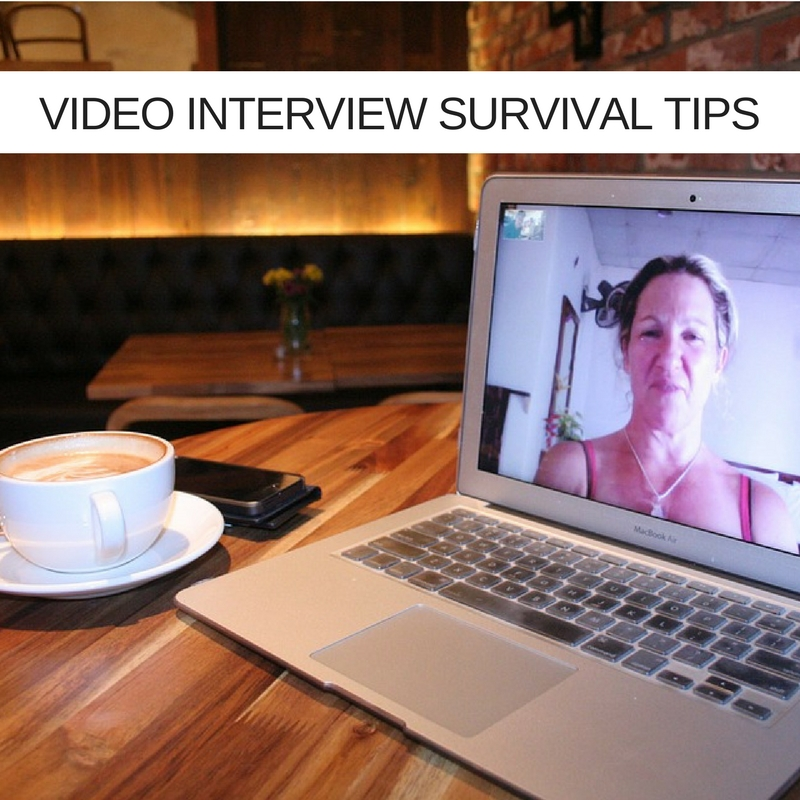 Video interview survival tips