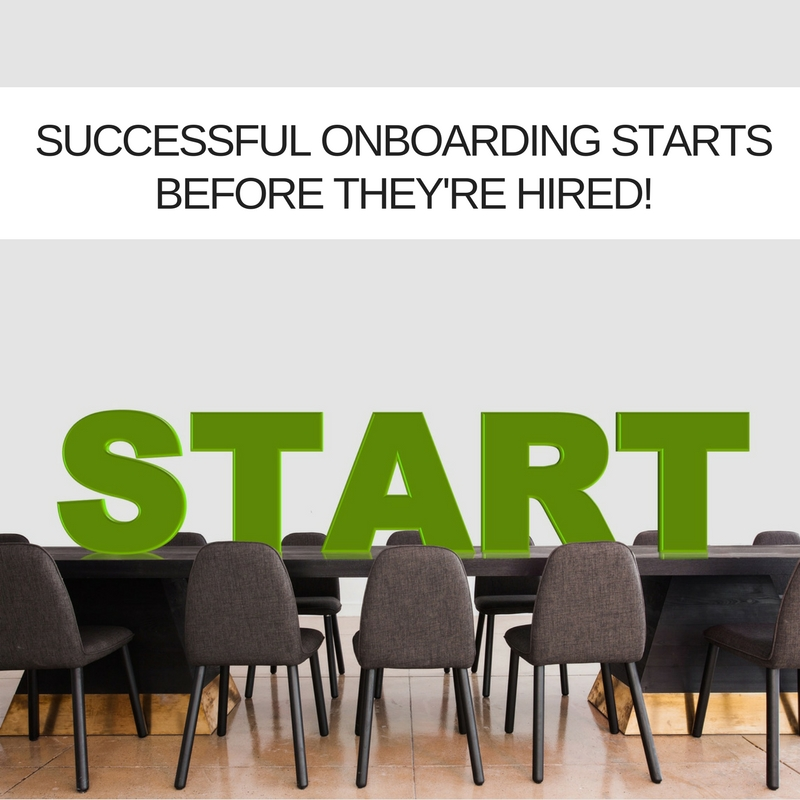 Successful onboarding of IT Project Management talent starts before they're hired!