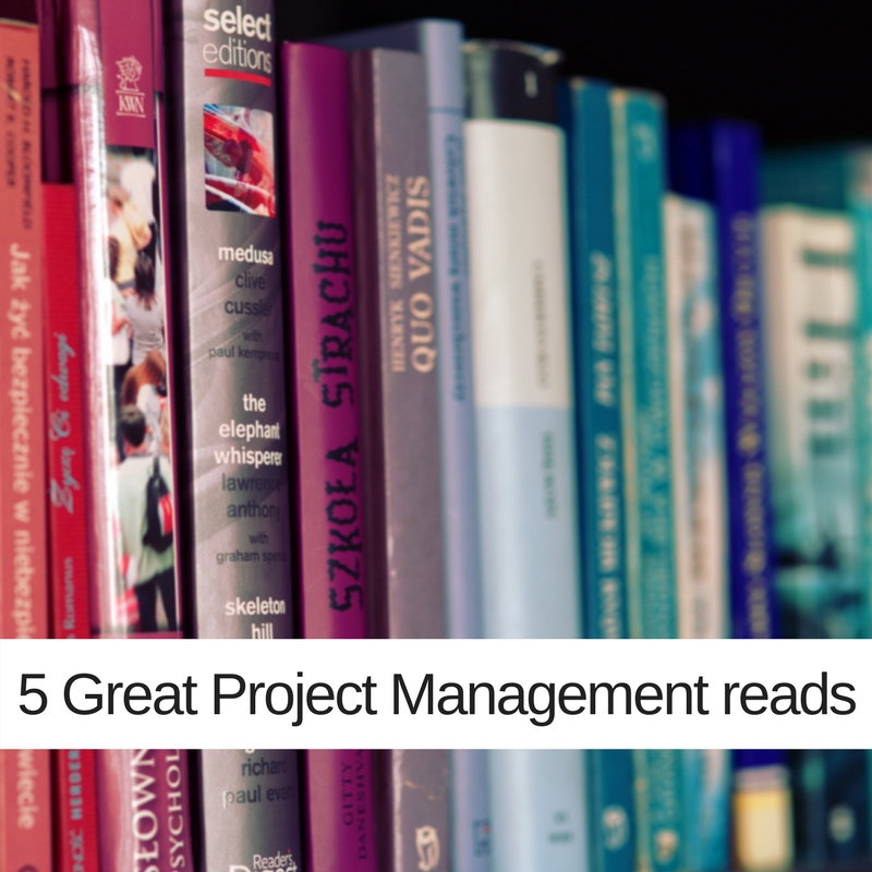 5 Great Project Management reads
