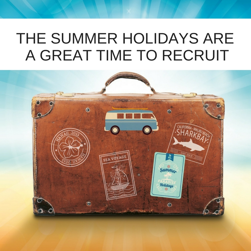 Why summer holidays are a great time to recruit an IT Project Manager