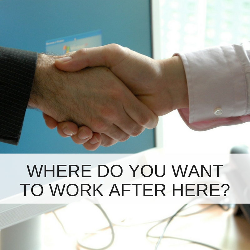 Why you should ask your talent 'Where would you want to work after here?'